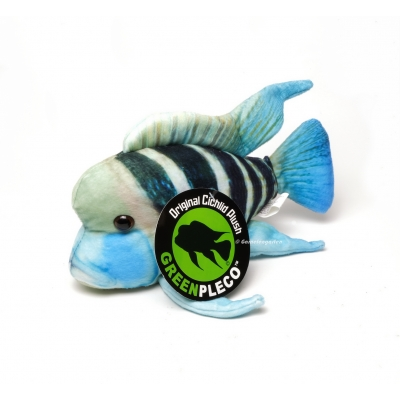 GreenPleco - Frontosa Cichlid Plushie