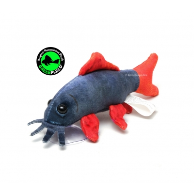 GreenPleco - Rainbow Shark Plushie