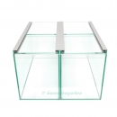 Aquarium K Duo 2 x 16,5x38x22 - passend für Kallax Regal...