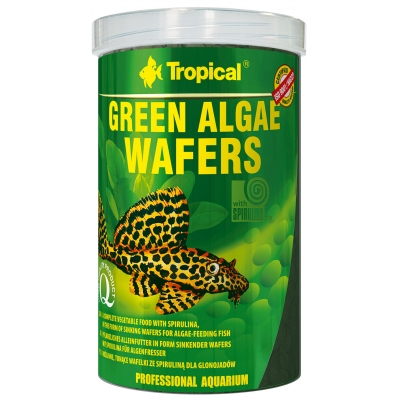 Tropical Green Algae Wafers 250 ml