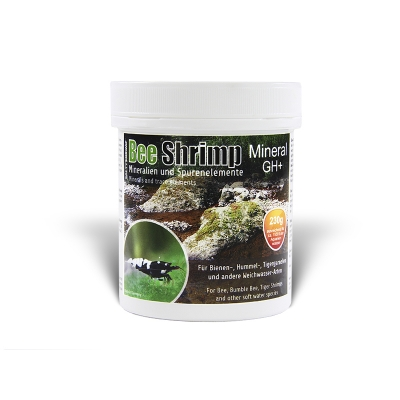 SaltyShrimp Bee Shrimp Mineral GH+  230 g