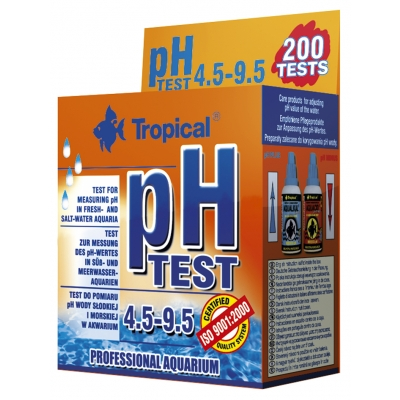 Tropical Tropfentest PH 4.5-9.5