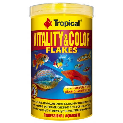 Tropical Vitality & Color Flockenfutter 21 Liter