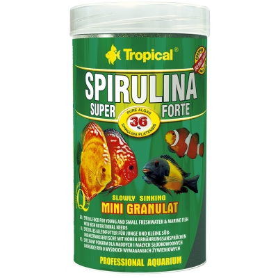 Tropical Super Spirulina Forte Mini Granulat 250 ml