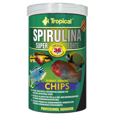 Tropical Super Spirulina Forte Chips 250 ml