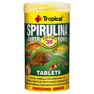 Tropical Super Spirulina Forte 36% Tablets 50 ml