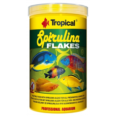 Tropical Spirulina Flakes Flockenfutter 1000 ml