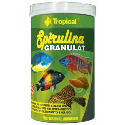 Tropical Spirulina Granulat 1000 ml