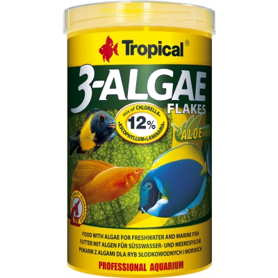 Tropical 3-Algae Flakes Flockenfutter 250 ml