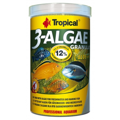 Tropical 3-Algae Granulat 1000 ml