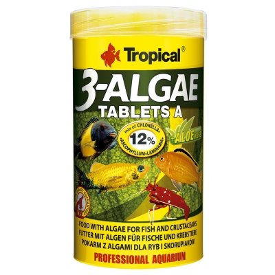 Tropical 3-Algae Tablets A 250 ml - Hafttabletten