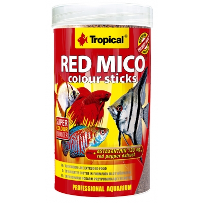 Tropical Red Mico Colour Sticks 3 l