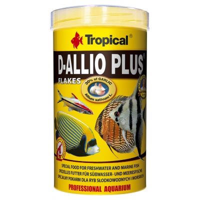 Tropical D-Allio Plus Flockenfutter 500 ml