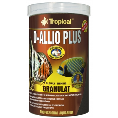 Tropical D-Allio Plus Granulat 10 l