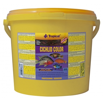 Tropical Cichlid Color XXL Flockenfutter 11 Liter