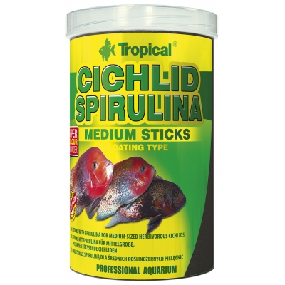 Tropical Cichlid Spirulina Medium Sticks