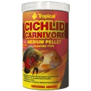 Tropical Cichlid Carnivore Medium Pellet 1 Liter
