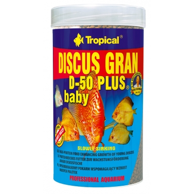 Tropical Discus Gran D-50 Plus Baby 3 Liter