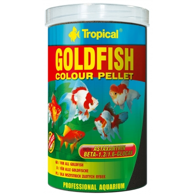 Tropical Goldfish Colour Pellet 250 ml