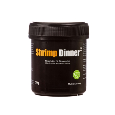 GlasGarten Shrimp Dinner Pads 2 - 70 g