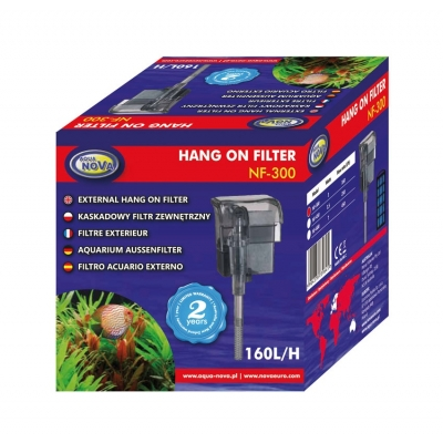 Aqua Nova Hang On Filter NF-300