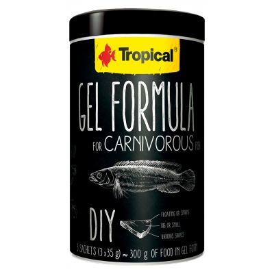 Tropical Gel Formula for Carnivorous Fish 3 x 35 g